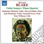Blake Howard - Sonata Per Violino Op.586, Penillion, Quartetto Con Pianoforte Op.179 cd musicale di Howard Blake