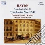 Sinfonia n.37, n.38, n.39, n.40 cd musicale di Haydn franz joseph