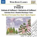 Musica per orchestra di fiati cd musicale di Geirr Tveitt