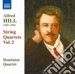 Quartetti per archi, vol.2: nn.4, 6, 8 cd musicale di Alfred Hill