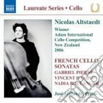 TRE PEZZI PER VIOLONCELLO EPIANOFORTE     cd musicale di Nadia Boulanger