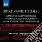 GREAT MOVIE THEMES 2                      cd musicale