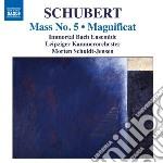 Messa n.1 d 105, n.3 d 324 cd musicale di Franz Schubert