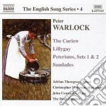 The curlew, lillygay, peterisms, saudade cd musicale di Peter Warlock