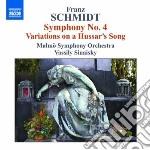 SINFONIA N.4, VARIAZIONI SU UN CANTO USS  cd musicale di Franz Schmidt