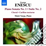 PIANO MSONATA NO.1- SUITE NO.2            cd musicale di George Enescu