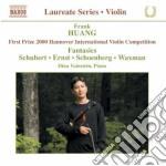 Violin recital cd musicale di Frank Huang