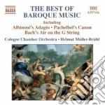 The best of baroque music-a.v. cd musicale di ARTISTI VARI