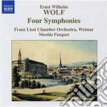 4 sinfonie cd musicale di Wolf ernst wilhelm
