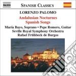 Nocturnos de andaluc????a, canciones espa????o cd musicale di Lorenzo Palomo