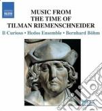 Musica dal tempo di tilman riemenschneid cd musicale