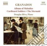 Opere per pianoforte (integrale), vol.8 cd musicale di Enrique Granados