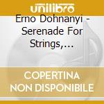 Serenade for string trio cd musicale di DOHNANYI