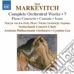 Musica per orchestra (integrale), vol.7: cd musicale di Igor Markevitch