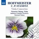 Concerti per viola cd musicale di Hoffmeister franz an