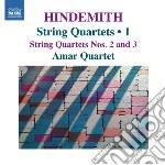 Quartetti per archi (integrale), vol.1 cd musicale di Paul Hindemith