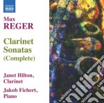 SONATE PER CLARINETTO (INTEGRALE)         cd musicale di Max Reger