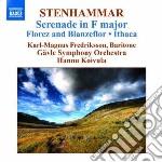 Stenhammar - Serenata Op.31, Florez Och Blanzeflor Op.3, Ithaka Op.31, Prelude & Bourree cd musicale di Wilhelm Stenhammar