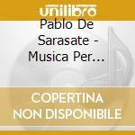 MUSICA PER VIOLINO E ORCHESTRA (INTEGRAL  cd musicale di Sarasate pablo de