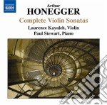 Sonate per violino (integrale) cd musicale di Arthur Honegger