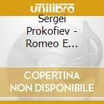 ROMEO E GIULIETTA (ARR. PER ENSEMBLE DI   cd musicale di Sergei Prokofiev