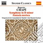 Sinfonia in re minore, fantasia morisca cd musicale di Ruperto Chapi'