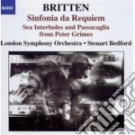 Sinfonia da requiem op.20, , gloriana o cd musicale di Benjamin Britten