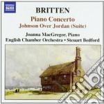 Concerto per pianoforte op.123, johnson cd musicale di Benjamin Britten