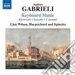 MUSICA PER TASTIERA                       cd musicale di Andrea Gabrieli