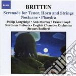 Serenata per tenore, corno e archi op.31 cd musicale di Benjamin Britten