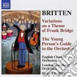 Variazioni du un tema di frank bridge op cd musicale di Benjamin Britten