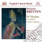 St nicolas cd musicale di BRITTEN