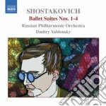 Ballet suites nn.1-4 cd musicale di Dmitri Sciostakovic