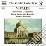 Concerti per flauto dolce: rv 87, 92, 94 cd musicale di Antonio Vivaldi