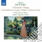 Duparc Henri - Chansons cd musicale di Henri Duparc