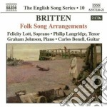 Folk song arrangements cd musicale di Benjamin Britten