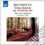 QUINTETTI PER ARCHI OP.29, OP.104, FUGA   cd musicale di Beethoven ludwig van