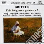 Folk arrangements, vol.2 cd musicale di Benjamin Britten