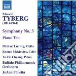 SINFONIA N.3, TRIO CON PIANOFORTE         cd musicale di Marcel Tyberg