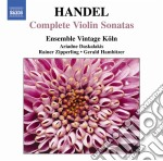 Sonate per violino (integrale) cd musicale di Handel georg friedri