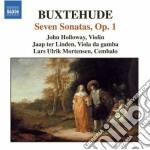 Sonate op.1 (nn.1-7, buxwv 252-258) cd musicale di Dietrich Buxtehude