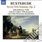 Triosonate op.2 (buxwv 259-265) cd musicale di Dietrich Buxtehude