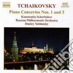 Tchaikovsky - Piano Concertos N.1 Op.23, N.3 Op.75, Andante E Finale Op.79 - Konstantin Sherbakov cd musicale di Ciaikovski pyotr il'