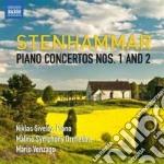 Concerto per pianoforte n.1 op.1, n.2 op cd musicale di Wilhelm Stenhammar
