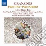 Trio con pianoforte, quintetto con piano cd musicale di Enrique Granados
