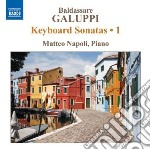 Sonate per tastiera (integrale), vol.1 cd musicale di Baldassarre Galuppi