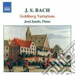 Variazioni goldberg bwv 988 cd musicale di Johann Sebastian Bach