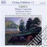 Piano concerto cd musicale di GRIEG