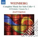 Musica per violoncello solo, vol.1 cd musicale di Mieczyslaw Weinberg