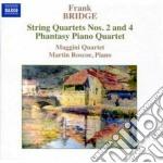 Bridge Frank - Quartetto Per Archi N.2, N.4, Phantasy Piano Quartet cd musicale di Frank Bridge